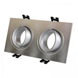 Kardan empotrable basculante para 2 bombillas GU10, MR16