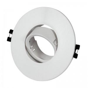 Aro downlight empotrable basculante GU10, MR16 Ø110mm