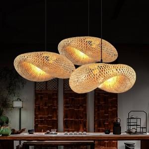 lámparas colgantes rústicas