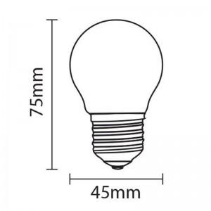 Bombilla LED E27 G45