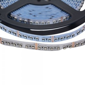 Tira LED 24V 24W, 600 SMD3030, 5M, IP20, 12mm - Alto brillo