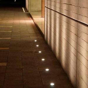 Baliza de suelo LED empotrable CCT FUMAGALLI CECI 90 GU10 3,5W