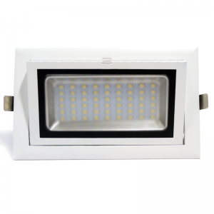 Downlight LED rectangular 38W