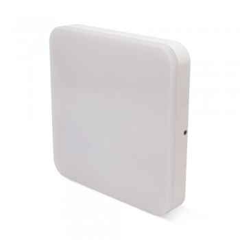 PLAFON CUADRADO SQUARE 24W IP54 CL.2 COLOR BLANCO 4000K