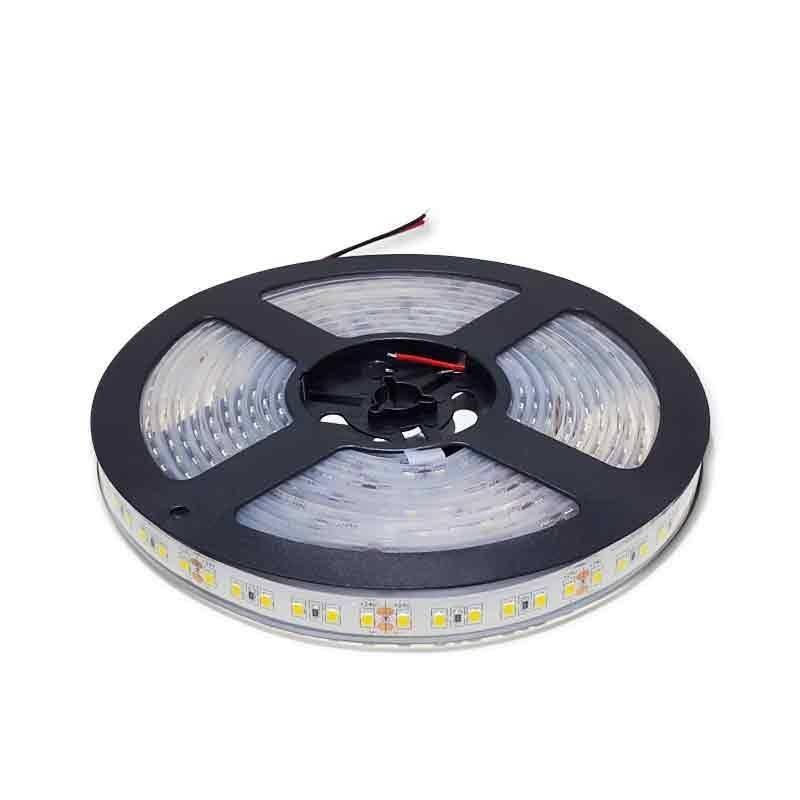 Rollo 5m de Tira LED 24V 18W/m. IP67 (600 SMD2835)