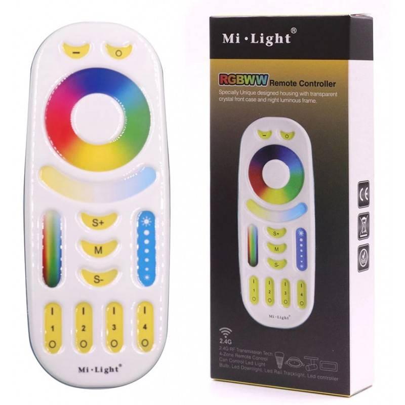Mando Controlador LED RGB+CCT 2,4 GHZ Mi Light FUT092