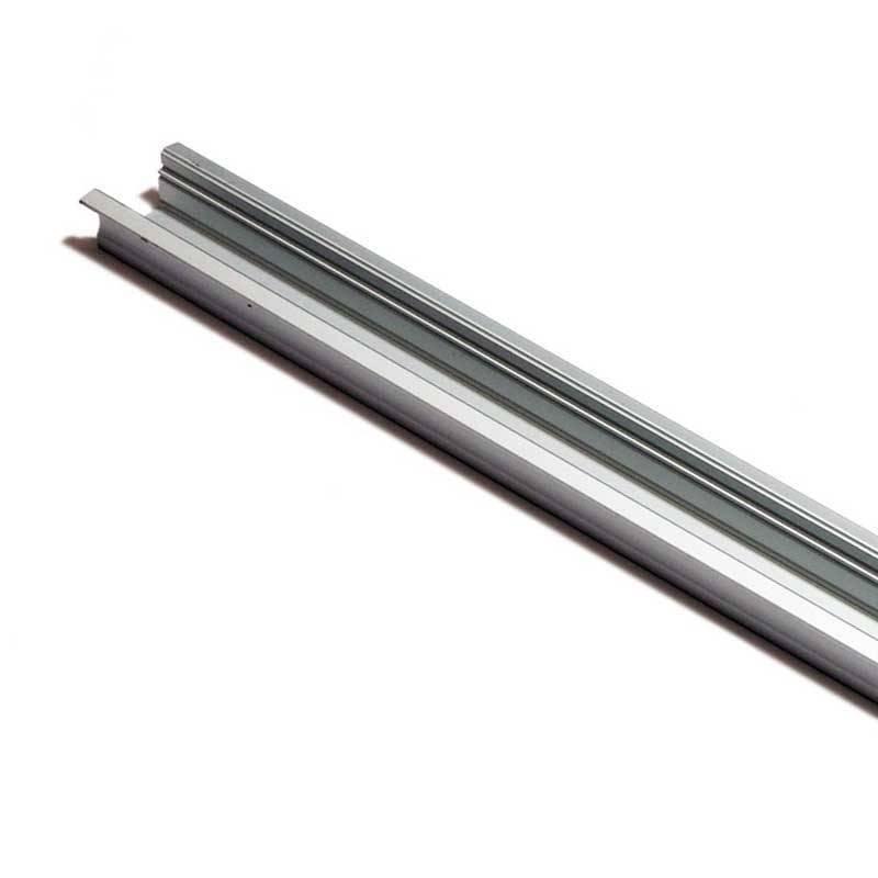 Perfil de aluminio 23x15mm para empotrar