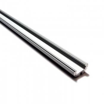 Perfil de aluminio redondo diámetro 21mm