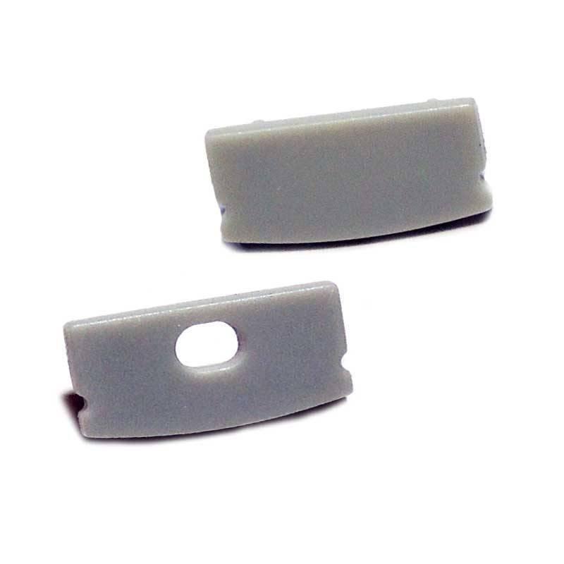 Tapas laterales para perfil 17x8mm
