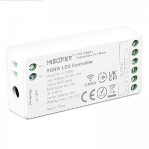 Controlador para Tiras RGBW 24V 2.4G WIFI MILIGHT FUT038S