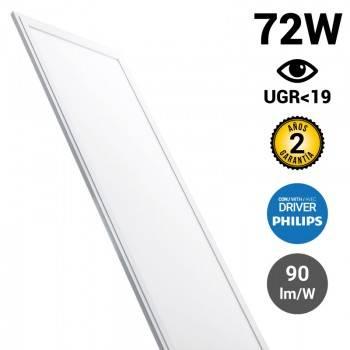 Panel LED slim 120X60cm 72W 6500LM UGR19 Driver Philips