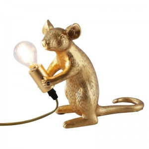 """Lámpara de mesa ratón de resina """"MOUSE"""""""