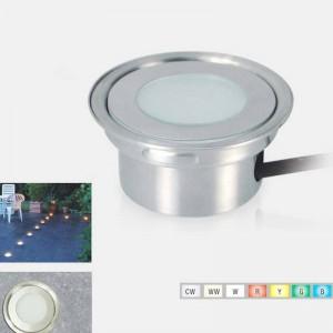 Foco LED baliza empotrable RGB