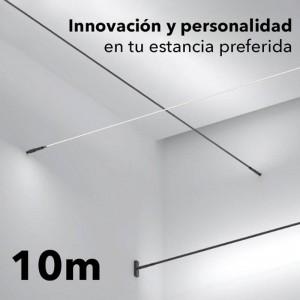 Kit SKYline iluminación lineal COB 320led/m 120W 10m