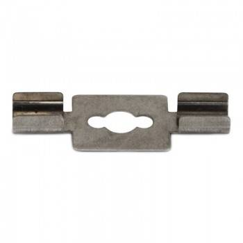 Grapa metálica para sujeción perfil 20x27mm