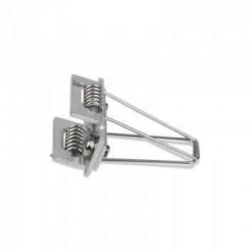 Grapas metálicas sujeción perfil empotrable 36x28mm