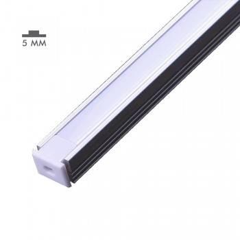 Perfil de aluminio 8x12mm de superficie