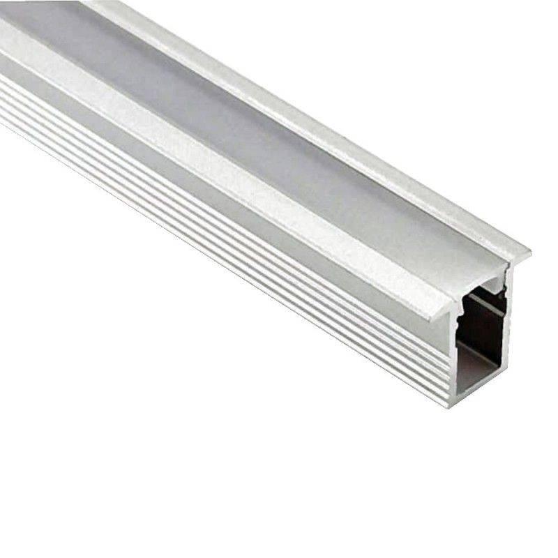 Perfil de aluminio 23x8mm para empotrar