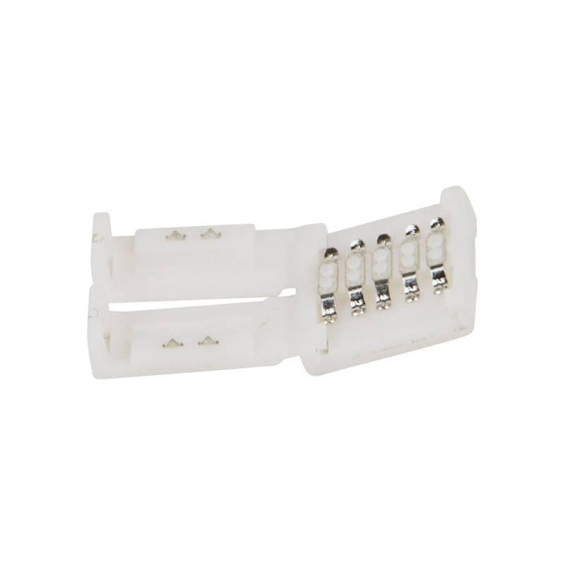 Conector para tiras LED RGB 10mm para esquinas 90º