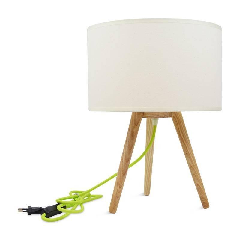 Lámpara de mesa Kanda de estilo nórdico