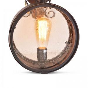 Lámpara vintage Led, metal envejecido Octurna