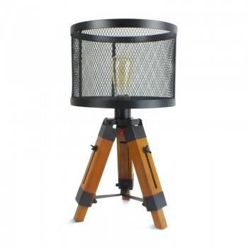 Lámpara Vintage trípode 63cm