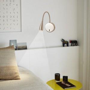 Aplique LED de pared para lectura Micron Orientable 3W
