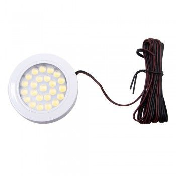 FOCO MINI SLIM DE SUPERFICIE BLANCO 1,7W 150LM IP20 4500K 12V-DC