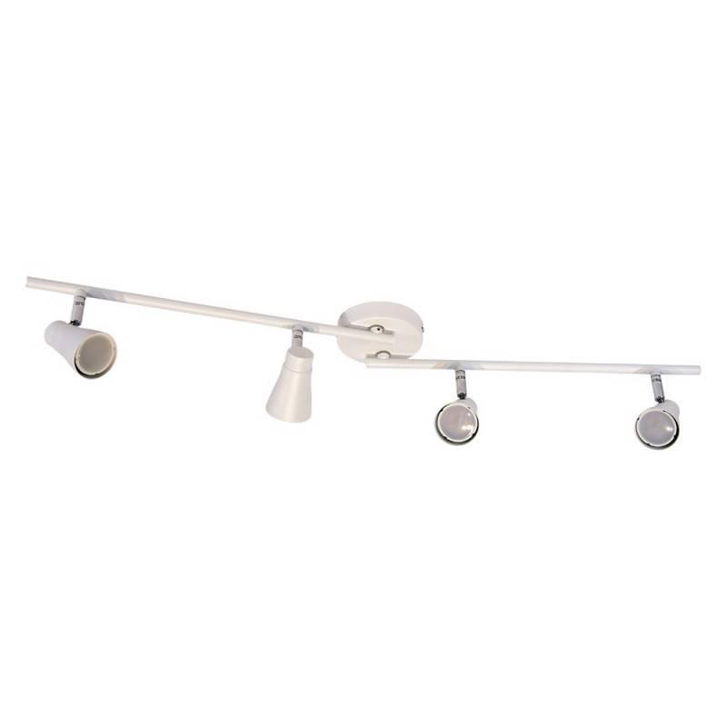 """Lámpara de techo """"NESTE"""" 4 puntos de luz GU10 orientables"""