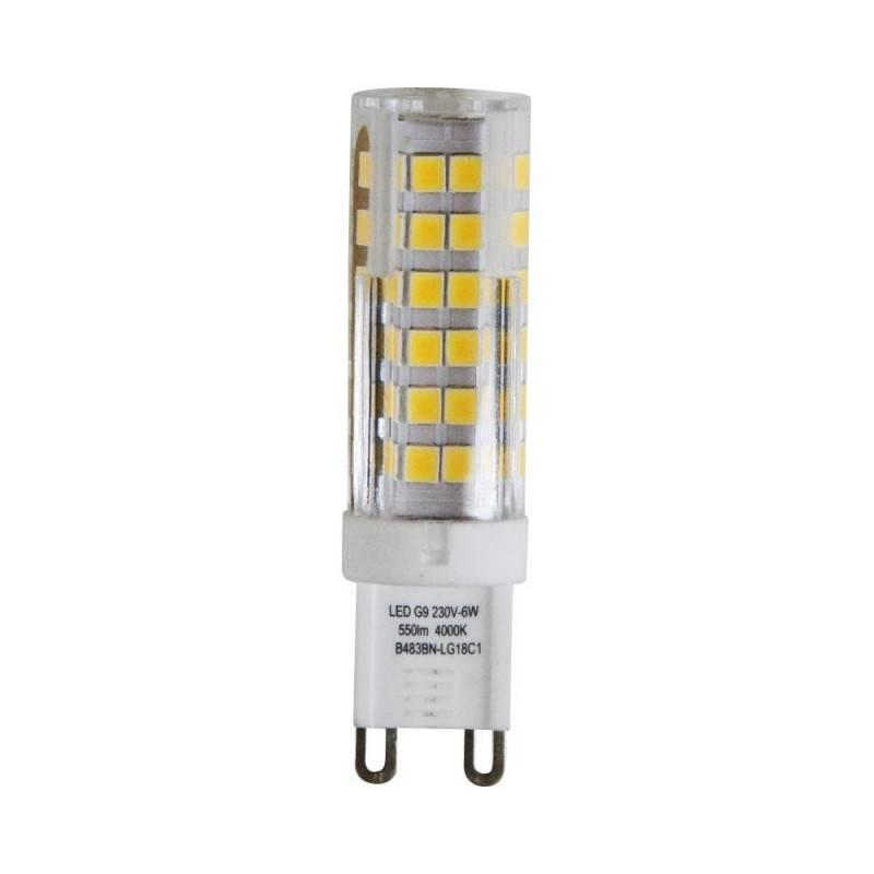 Bombilla LED G9 cilíndrica  6W SMD2835