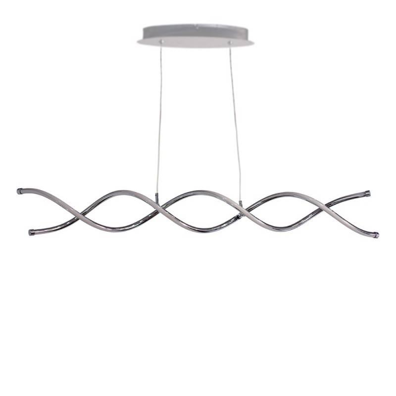 "Lámpara colgante LED ""HELIX-C"" de doble espiral 25W"