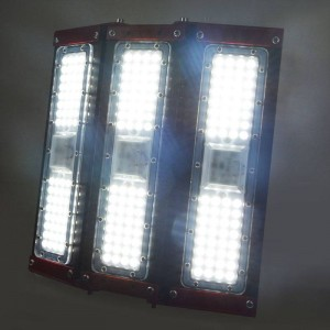 Proyector asimétrico industrial LED triple 150W