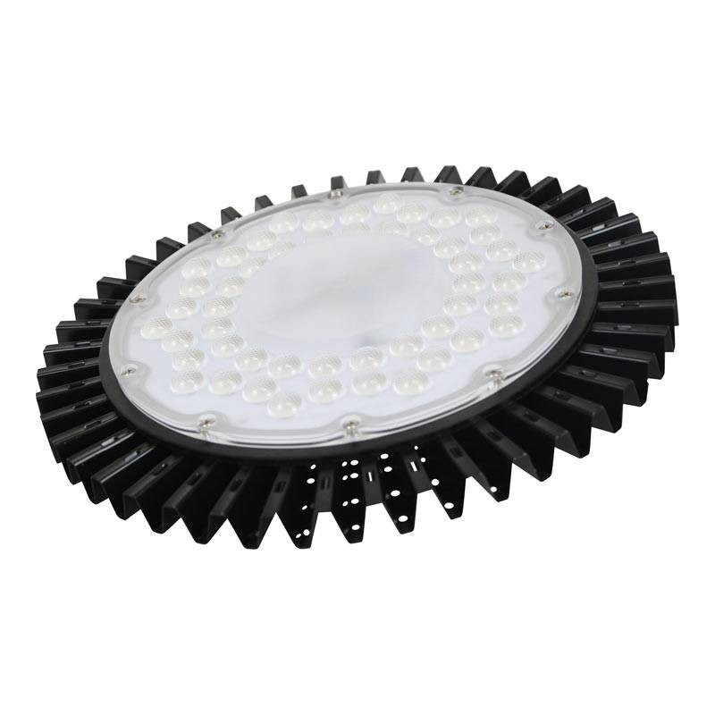 Campana Industrial LED slim tipo UFO 100W
