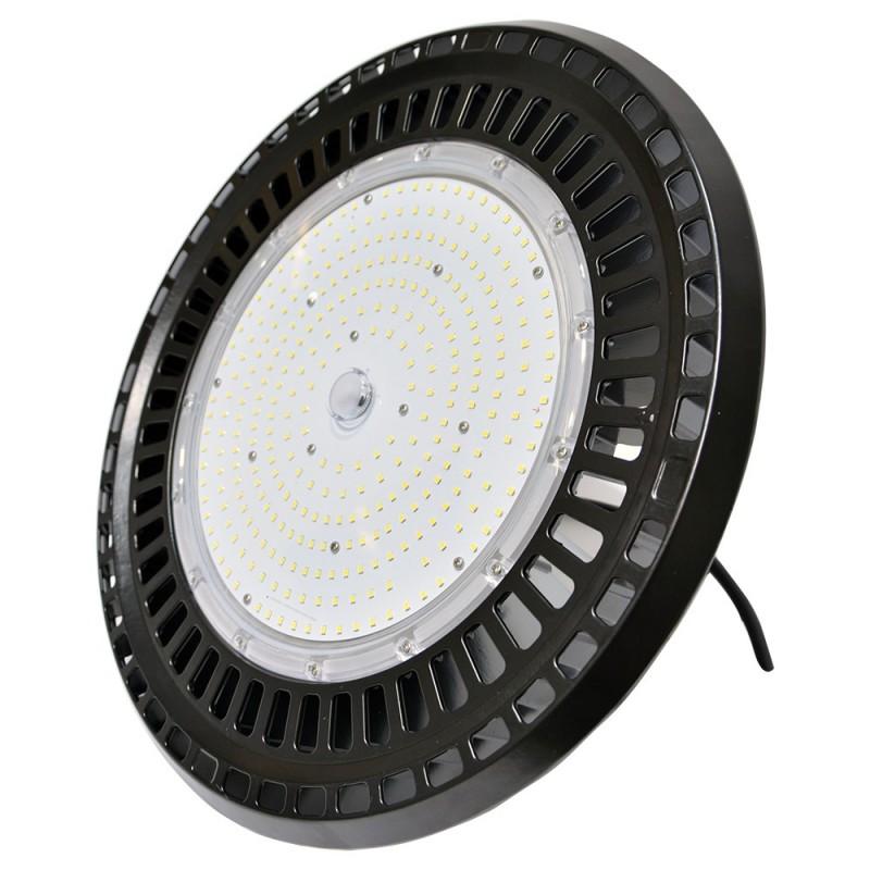 CAMPANA INDUSTRIAL LED SLIM UFO 200W ALTO RENDIMIENTO 130LM/W CHIP SAMSUNG SMD2835 5000K