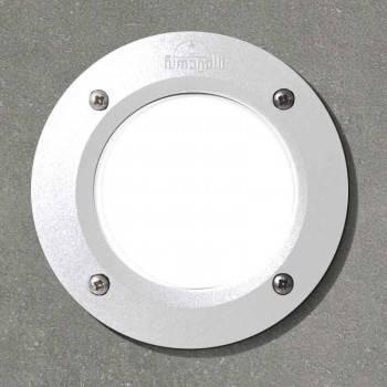 Aplique LED Redondo Empotrable Fumagalli LETI 100 3W 4000K