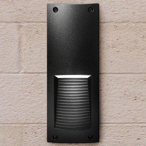 Luz de pared exterior LED Fumagalli LETI 300 VP 6W 3000K