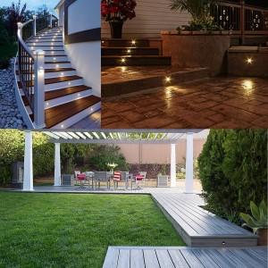 luces de escalera
