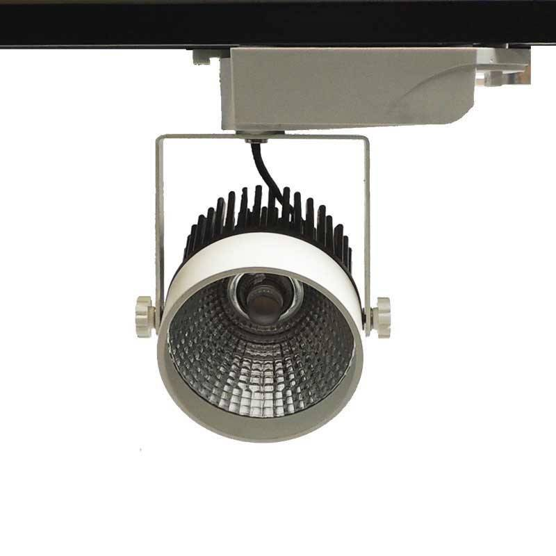 Proyector LED para carril Monofásico 12W