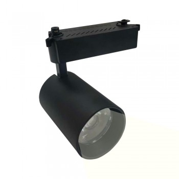 PROYECTOR LED DE CARRIL MONOFASICO 30W CHIP COB ÁNGULO 15º