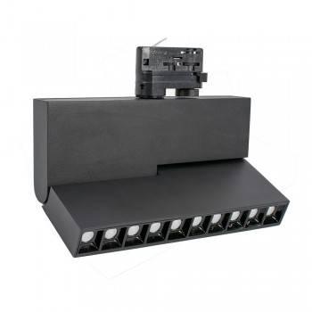 Foco LED de carril trifásico UGR19