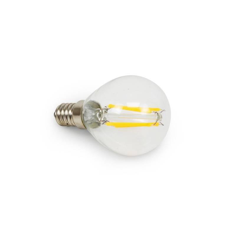 Bombilla Filamento LED E14 Clear G45 4W