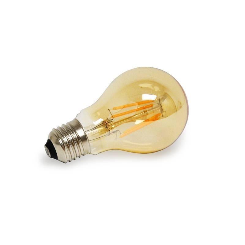 Bombilla LED  E27 A60 4W Serie Vintage Gold No regulable
