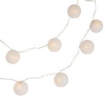 Guirnalda LED bola de algodón
