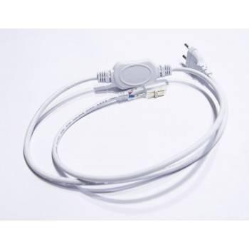 Cable alimentación para manguera LED Ø13mm 230V