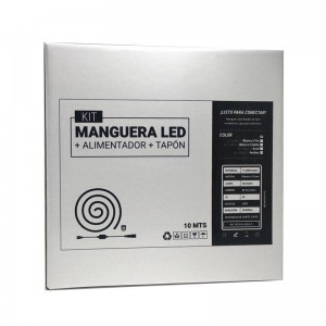 Rollo 10 mt. Manguera LED 230V IP65