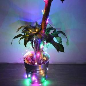 """Alambre de cobre LED """"luces de hada"""" 12V (10mt.)"""