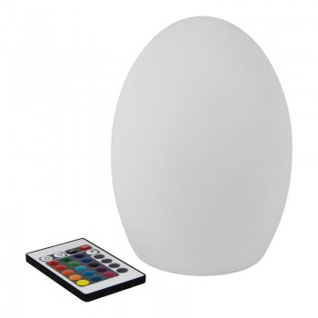 Lámpara Oval LED 19cm RGB