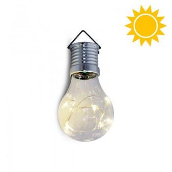 Bombilla Solar Exterior Efecto Luces Hada