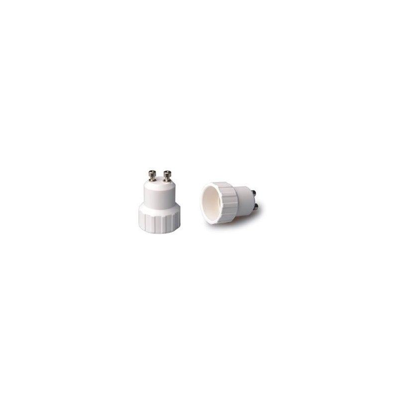 Cardan de acero para una bombilla QR111 LED orientable y basculante 185x175/205x205mm color Gris