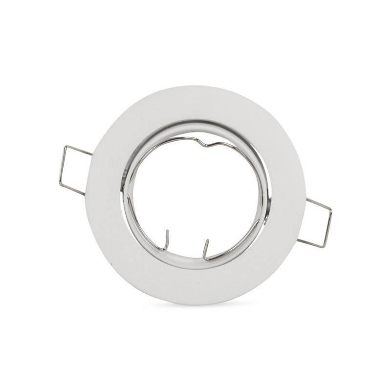 Aro empotrable redondo basculante de aluminio standard